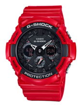 GA-201RD-4A Casio G-Shock Prémium Limited Edition Férfi karóra