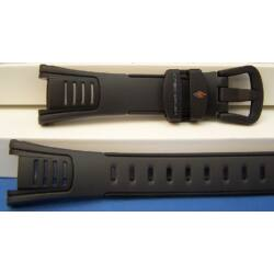 STP-100-1 Casio fekete műanyag szíj