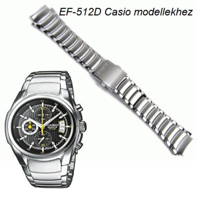 EF-512D Casio fémszíj