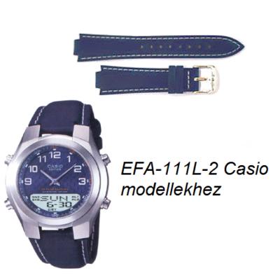 EFA-111L-2 Casio kék bőrszíj