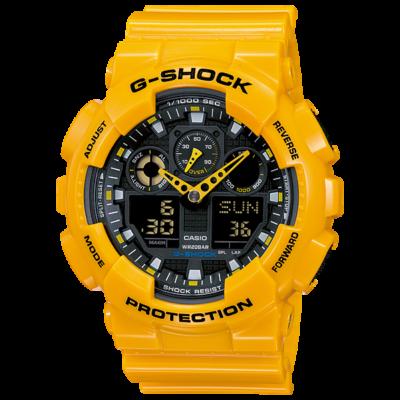 GA-100A-9A Casio G-Shock Férfi karóra