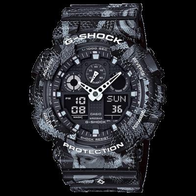 GA-100MRB-1A Casio G-Shock Prémium Limitált Férfi karóra