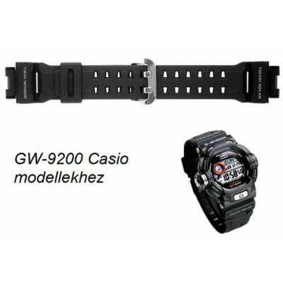 GW-9200 G-9200 Casio fekete műanyag szíj