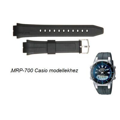 MRP-700 Casio fekete műanyag szíj