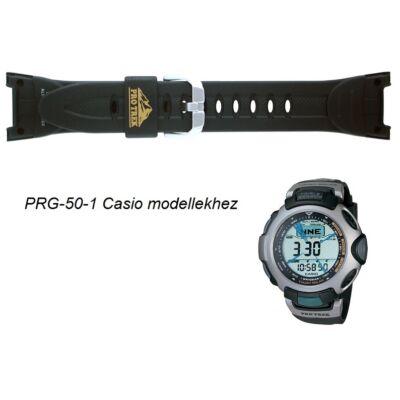 PRG-50-1 Casio fekete műanyag szíj