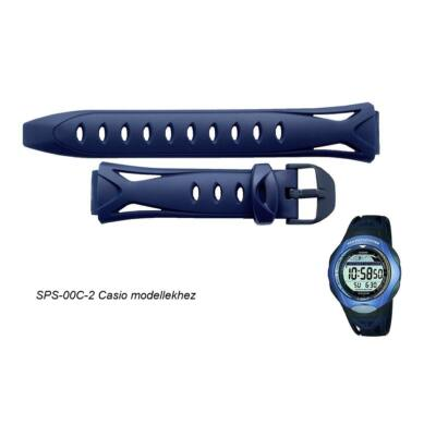 SPS-300C-2 Casio kék műanyag szíj