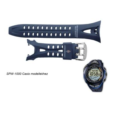 SPW-1000 Casio szürkés kék műanyag szíj