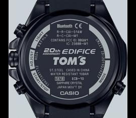ECB-10TMS-1AER Casio Edifice Prémium férfi karóra TOM'S,Limitált kiadás