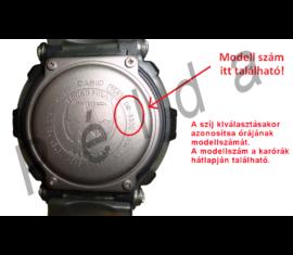 EFA-132PB Casio fekete műanyag óraszíj