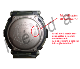 MQ-24 MQ-58 MQ-76 MQ-104 Casio fekete műanyag szíj
