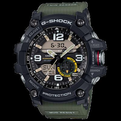 GG-1000-1A3 Casio G-Shock Mudmaster Prémium Férfi karóra