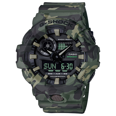 GA-700CM-3A Casio G-Shock Prémium Férfi karóra