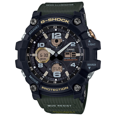 GWG-100-1A3 Casio G-Shock MUDMASTER Prémium Férfi karóra