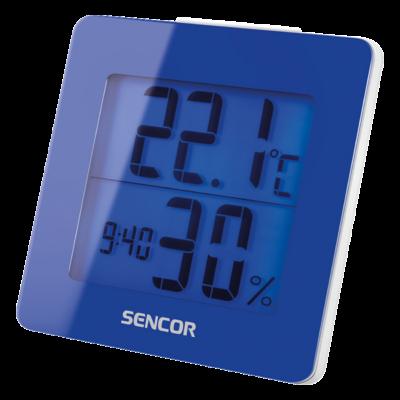 Hőmérő ébresztőórával - KÉK, Ajándék 30.000 Ft-os vásárlás felett