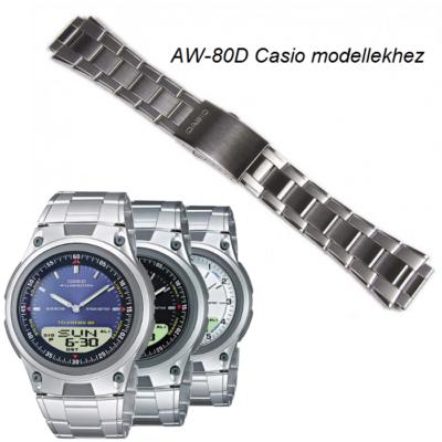 AW-80D Casio fémszíj