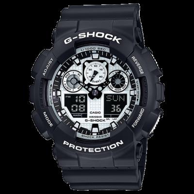 GA-100BW-1A Casio G-Shock Férfi karóra