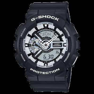 GA-110BW-1A Casio G-Shock Férfi karóra