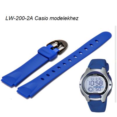 LW-200-2A Casio kék műanyag szíj