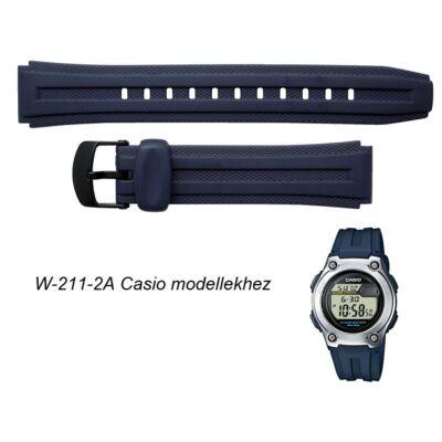 W-211-2A Casio kék műanyag szíj