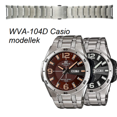 WVA-104D Casio fémszíj