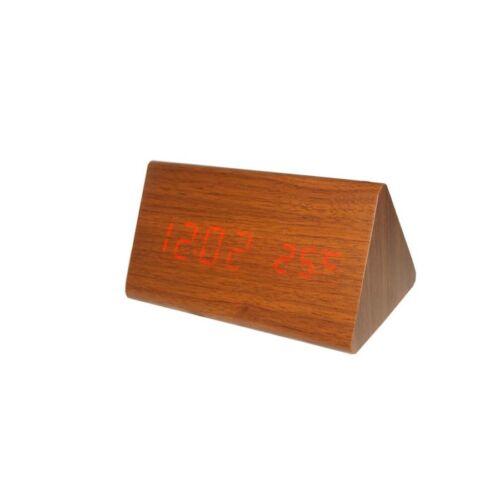 BCBP-SA020 Digitális barna fa asztali óra