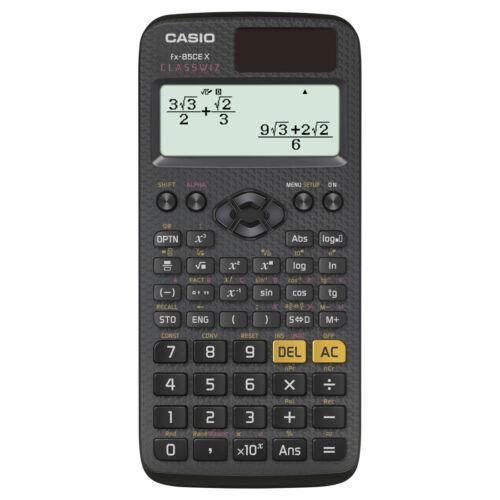 FX 85 CE X Casio tudományos számológép -379 funkció