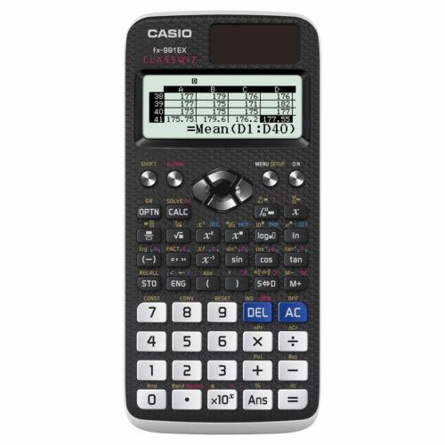 FX 991 EX Casio tudományos számológép -552 funkció