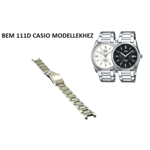 BEM-111D Casio fémszíj