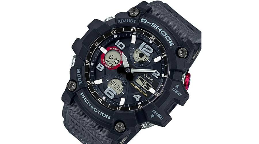 GWG-100-1A8 Casio G-Shock MUDMASTER Prémium Férfi karóra 0629032772