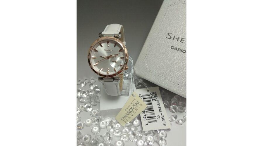 SHE-4051PGL-7A Casio Sheen Prémium női karóra b5da9baa71